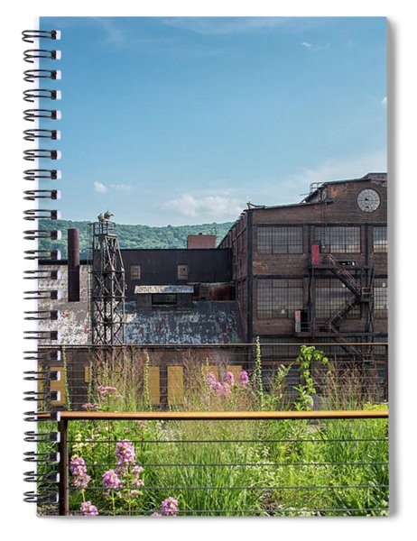 Wildflowers At Bethlehem Spiral Notebook