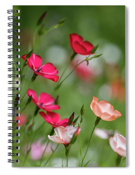 Wildflowers Meadow Spiral Notebook