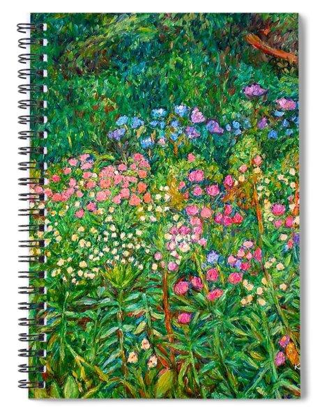 Wildflowers Near Fancy Gap Spiral Notebook