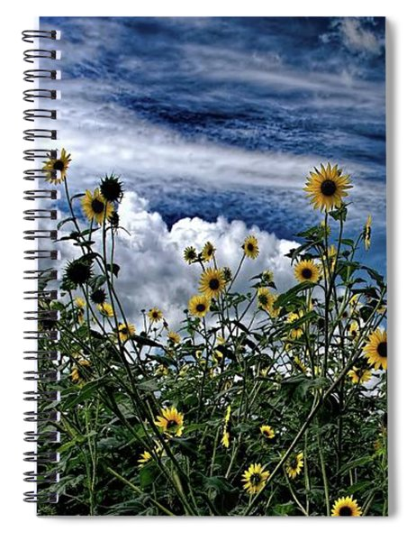Wildflowers On The Brazos Spiral Notebook