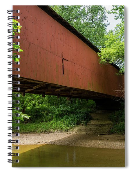 Wilkens Mill Covered Bridge Spiral Notebook
