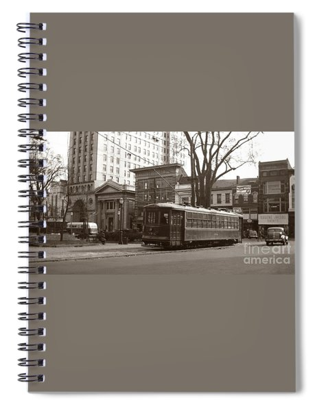 Wilkes Barre Pa Public Square Oct 1940 Spiral Notebook