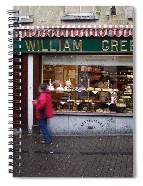 William Greer Spiral Notebook