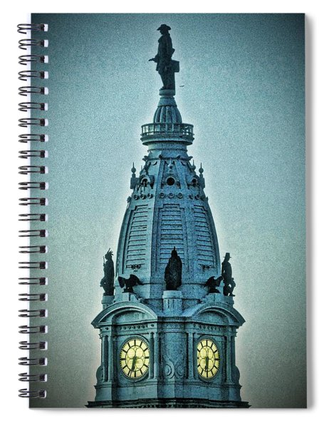 William Penn On Top Spiral Notebook