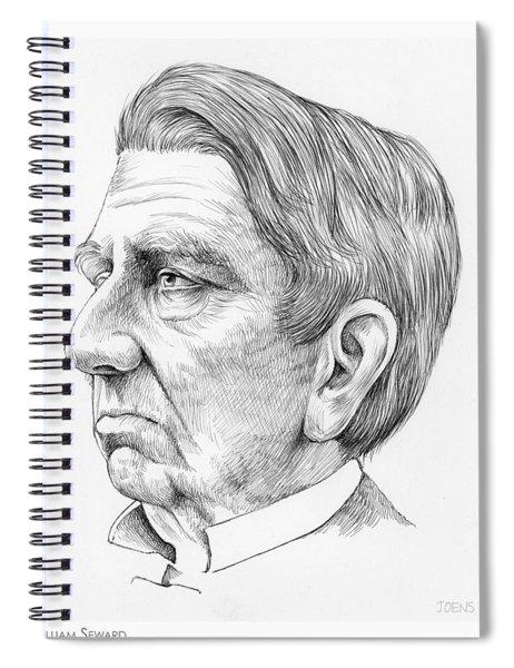 William Seward Spiral Notebook