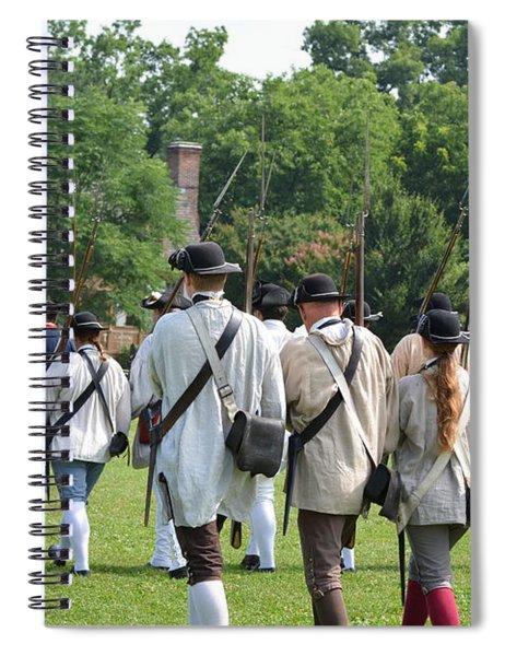 Williamsburg Spiral Notebook