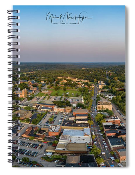 Willimantic Panorama Spiral Notebook
