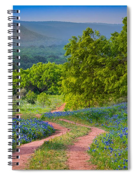 Willow City Road Spiral Notebook