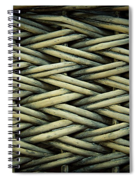 Willow Weave Spiral Notebook