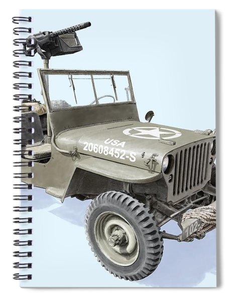Willy Spiral Notebook