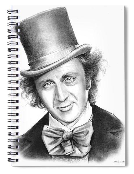 Willy Wonka Spiral Notebook