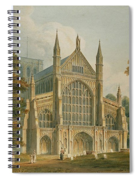 Winchester Cathedral Spiral Notebook