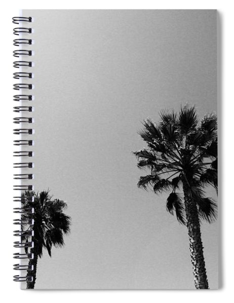 Wind In The Palms- By Linda Woods Spiral Notebook