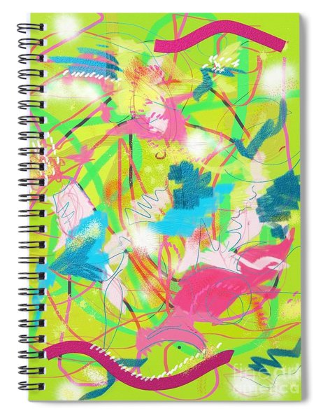 Wind In The Park Spiral Notebook