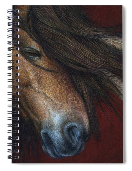 Wind River Spiral Notebook by Pat Erickson