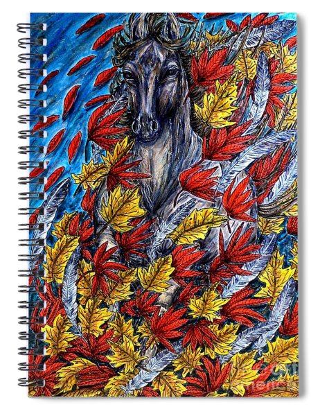 Wind Spirit Spiral Notebook