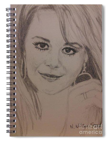 Windblown Natalie Spiral Notebook