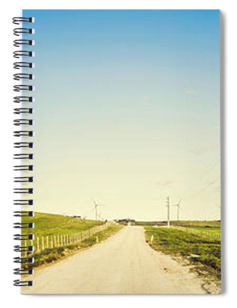 Windfarm Way Spiral Notebook