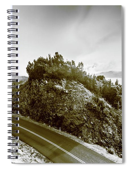 Winding Gordon River Road Spiral Notebook