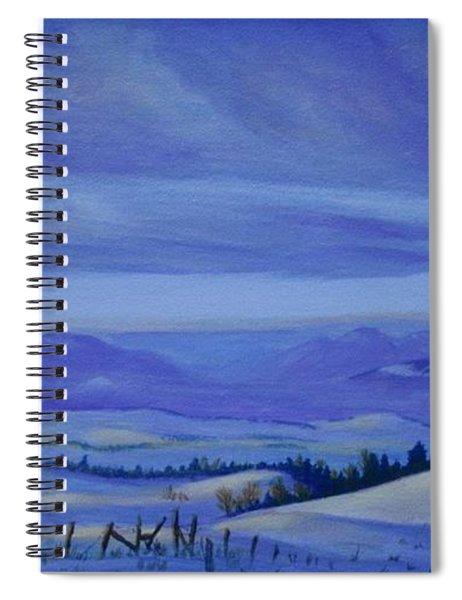 Winding Roads Spiral Notebook