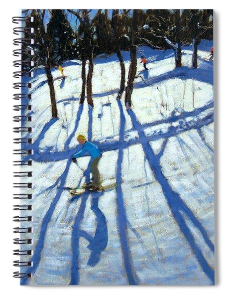 Winding Trail Morzine Spiral Notebook