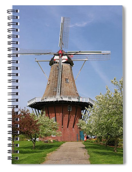 Windmill Island Gardens In May Spiral Notebook