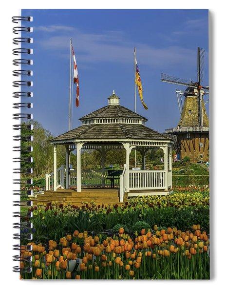 Windmill Island Gardens  Spiral Notebook
