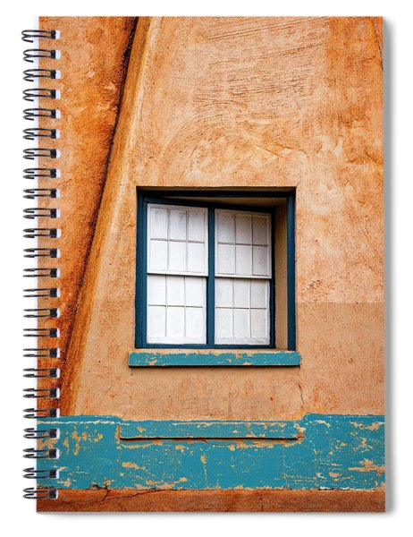 Window And Adobe Walls Spiral Notebook