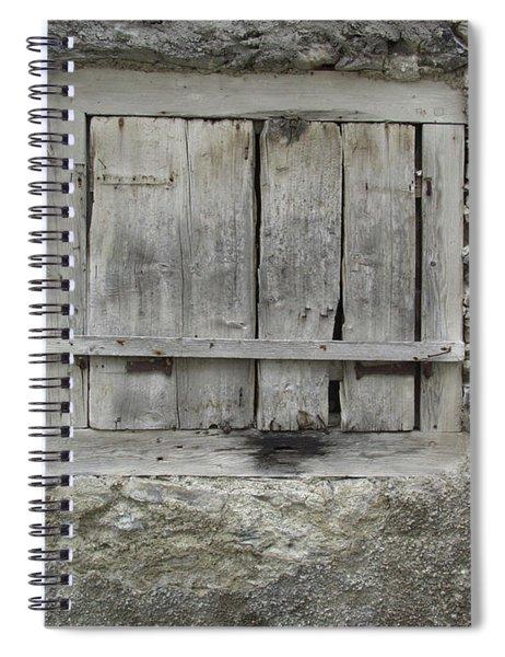 Window Spiral Notebook