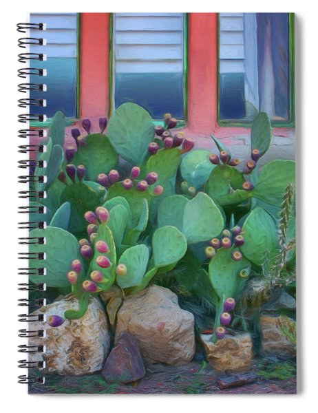 Window - Prickly Pear Spiral Notebook
