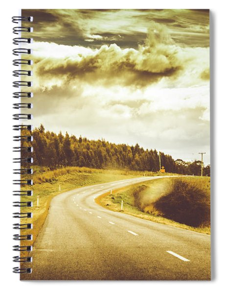 Window To A Rural Road Spiral Notebook