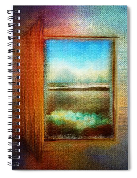 Window To Anywhere Spiral Notebook