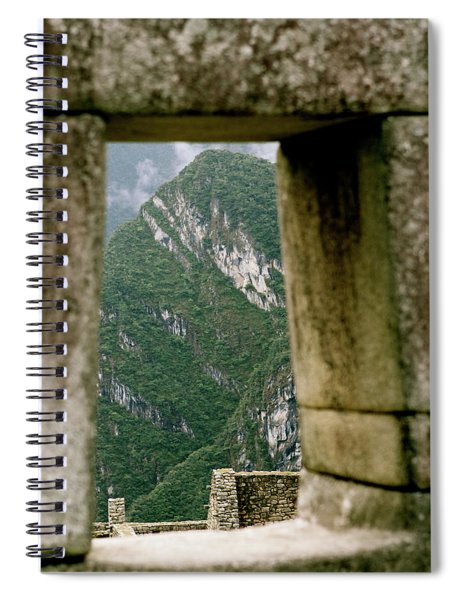 Window To The Gifts Of The Pachamama Spiral Notebook