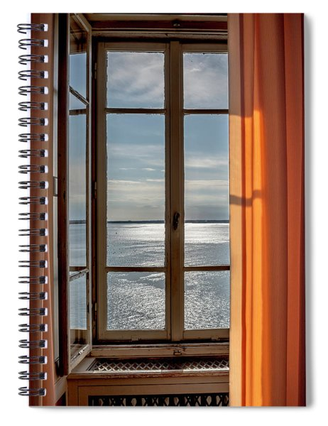 Window With A View Spiral Notebook