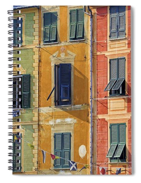 Windows Of Portofino Spiral Notebook