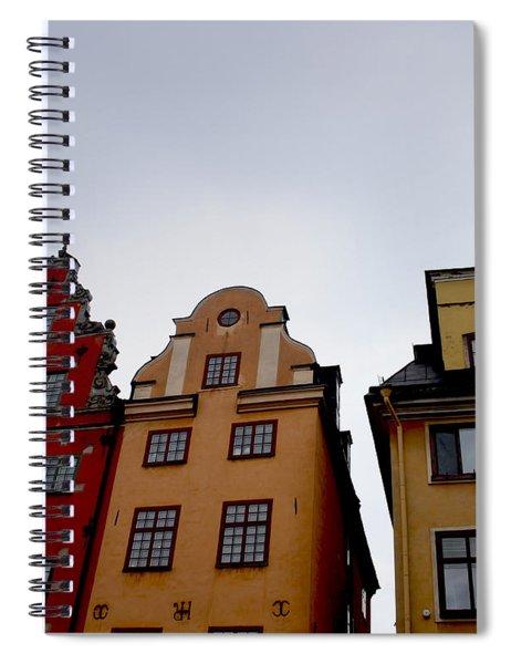 Windows On Gamla Stan Spiral Notebook