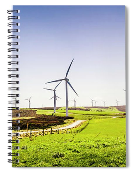 Winds From West Woolnorth Spiral Notebook