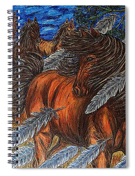 Winds Of Change Spiral Notebook