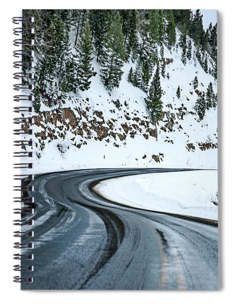 Winds Of Destination Spiral Notebook