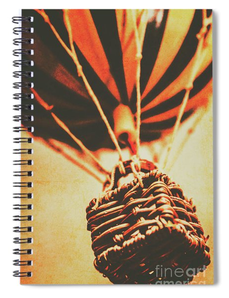 Winds Of Old Travel  Spiral Notebook