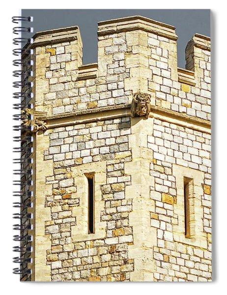 Windsor Castle Detail Spiral Notebook