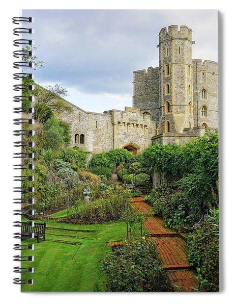 Windsor Castle Garden Spiral Notebook