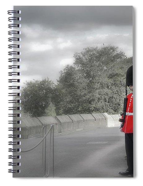 Windsor Castle Guard Spiral Notebook