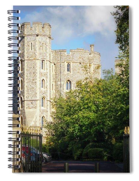 Windsor Castle Spiral Notebook