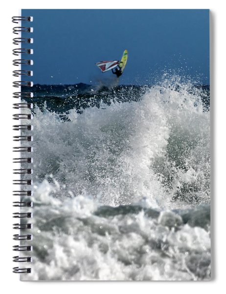 Windsurfer Spiral Notebook