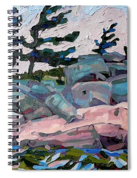 Windy Island Spiral Notebook