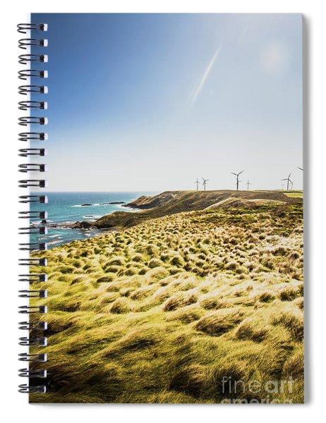 Windy Meadows Spiral Notebook