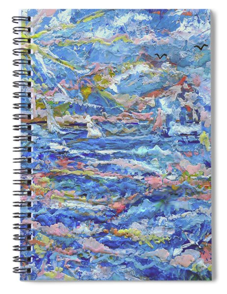 Windy Seas Spiral Notebook