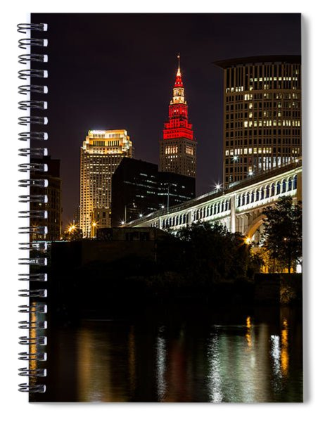 Wine And Gold In Cleveland Spiral Notebook