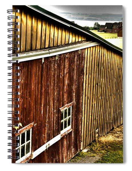 Wine Barn Spiral Notebook